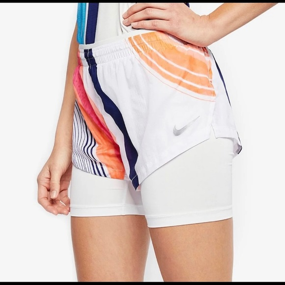 wholesale latest discount lowest price Nike Elevate 2 In 1 Women Running Shorts Sz M NWT